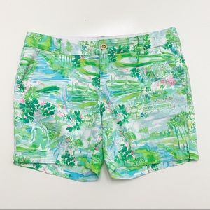"Lilly Pulitzer Honda Classic Jayne 7"" Shorts 10"